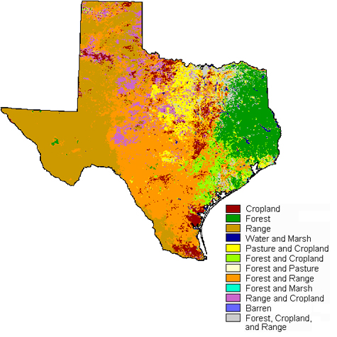 Land and Climate  Texas